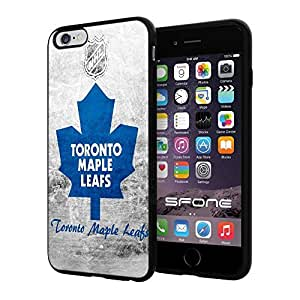 "Toronto Maple Leafs NHL, #1435 iPhone 6 Plus (5.5"") I6+ Case Protection Scratch Proof Soft Case Cover Protector"