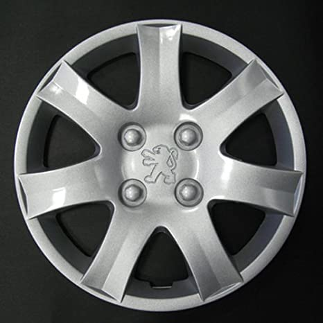 Wheeltrims Set de 4 embellecedores nuevos para Peugeot 206/106/306/406/