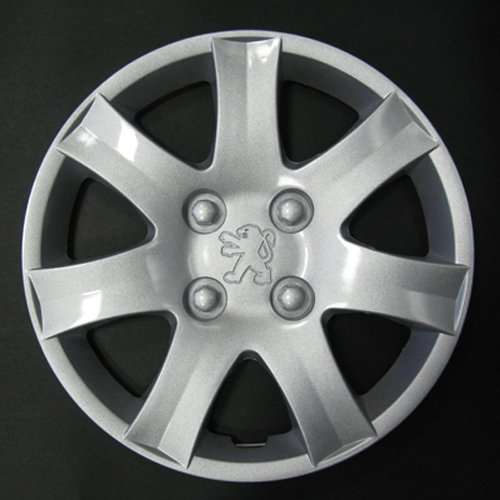 Wheeltrims Set de 4 embellecedores nuevos para Peugeot 206/106/306/406/806/Ranch/Bipper con Llantas Originales DE 14: Amazon.es: Coche y moto