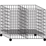 Collapsible Dump Impulse Gridwall Grid Bin Black 24''L x 36''W x 30''H Wheels New