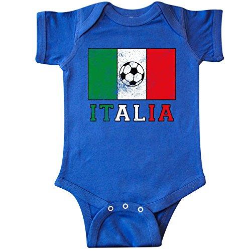 inktastic - Italian Soccer Infant Creeper 6 Months Royal Blue 2e0d2 ()