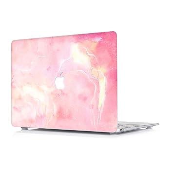 L2W Fundas MacBook Air 13 Carcasa Funda Pintura para Apple MacBook Air 13,3 Pulgadas (A1466/A1369),Portátiles Accesorios Plástico Protección Duro ...