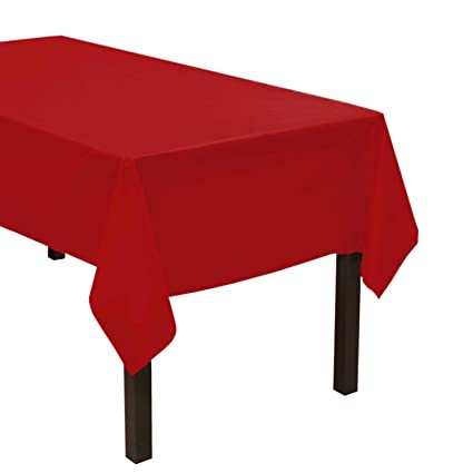Image Unavailable  sc 1 st  Amazon.com & Amazon.com: Party Essentials Heavy Duty Plastic Table Cover ...