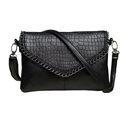 - fashion Shoulder Handbags 2017 women shoulder bag small black womens handbags women crossbody ladies hand bag bolsa feminina evening purses party bags (Small, black)