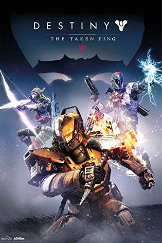 - POSTER STOP ONLINE Destiny: The Taken King - Gaming Poster/Print (Game Cover/Key Art) (Size: 24