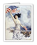 Patriotic WWI Poster Note Cards Set of 8 with Envelopes