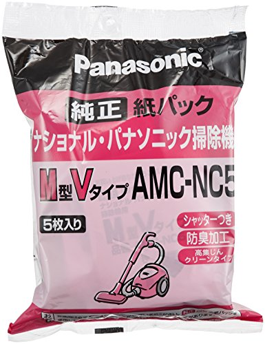 Panasonic AMC-NC5 cleaner pack (with deodorization processing) (M type V type) (5 pieces case) AMC-NC5