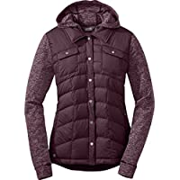 Outdoor Research Adjustable Hood Women's Plaza Jackette (Pinot)