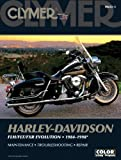 Harley-Davidson FLH/FLT/FXR Evolution, 1984-1998, Clymer Publications Staff and Penton Staff, 0892879165