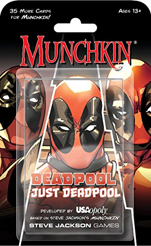 USAOPOLY Deadpool Munchkin Card Game