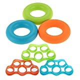 Emile Fitness tool finger puller silicone clutch set