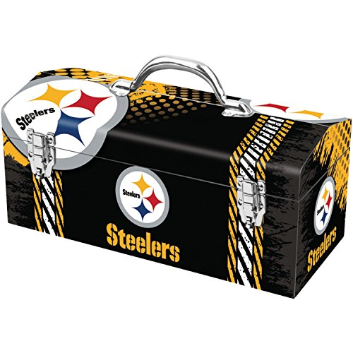 (NFL Pittsburgh Steelers Full-Print Tool Box)