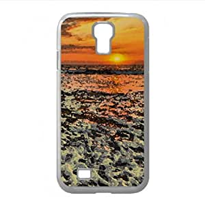 Drifting Log Watercolor style Cover Samsung Galaxy S4 I9500 Case (Beach Watercolor style Cover Samsung Galaxy S4 I9500 Case)