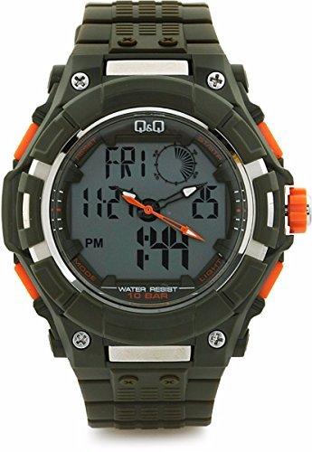 Q amp;Q Regular Analog Digital Black Dial Men #39;s Watch   GW80J004Y