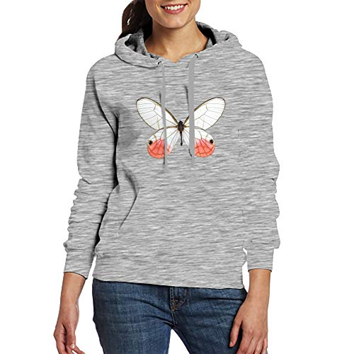 Women's Hoodies Sweatshirt Butterfly Long Sleeve Pullovers Tracksuit T Shirts