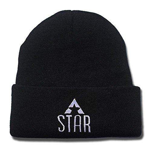 DEBANG Star Labs - Flash Captain Tv Laboratories Logo Beanie Embroidery Hat Cap