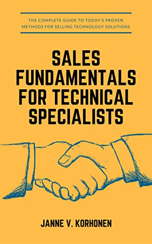Sales Fundamentals for Technical Specialists
