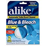 alike Automatic Toilet Bowl, Cleaner Tabs, 1.75 Ounce, 2 Count
