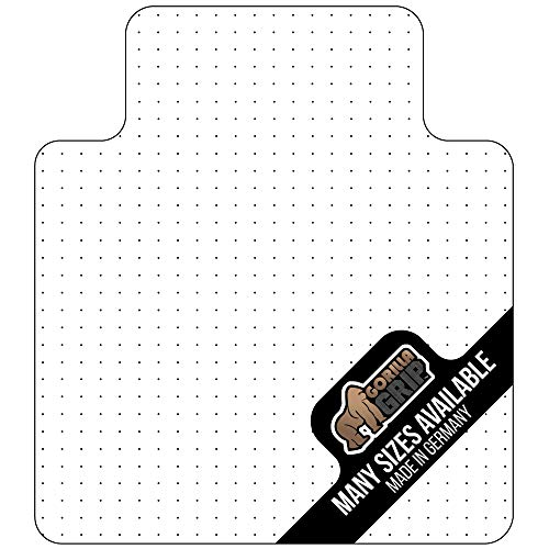 Gorilla Grip Premium Polycarbonate Studded Chair Mat for Carpeted Floor