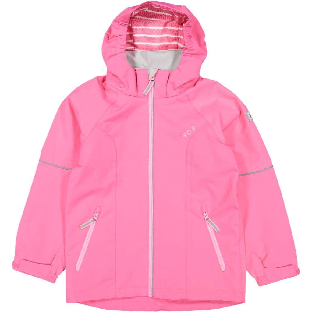 Polarn O. Pyret Shell Jacket (6-12YRS) - Fandango Pink/6-7 Years