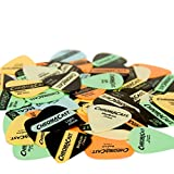 ChromaCast 60-Pack of Guitar Picks in Assorted Vintage Colors - 60 Delrin Picks (Gauges .60mm, .73mm, .88mm)