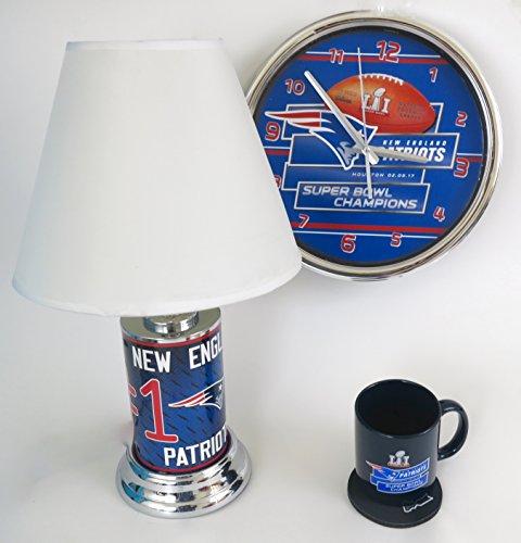 New England Patriots Desk Lamp Patriots Desk Lamp