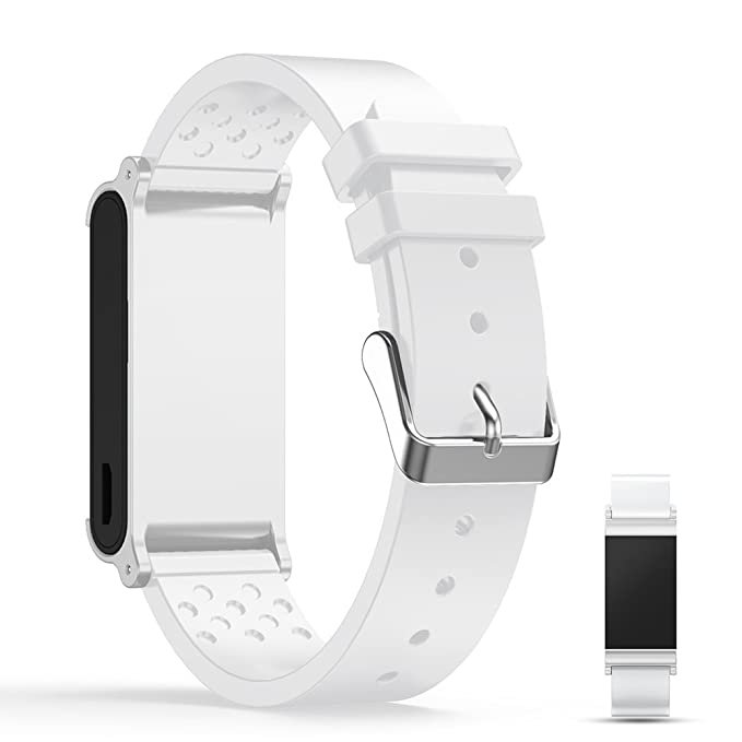 iFeeker Montre connectée Withings Pulse Ox Sangle de bande de rechange, souple en silicone Sports Sangle de bracelet Bracelet pour Withings Pulse Ox Smart ...