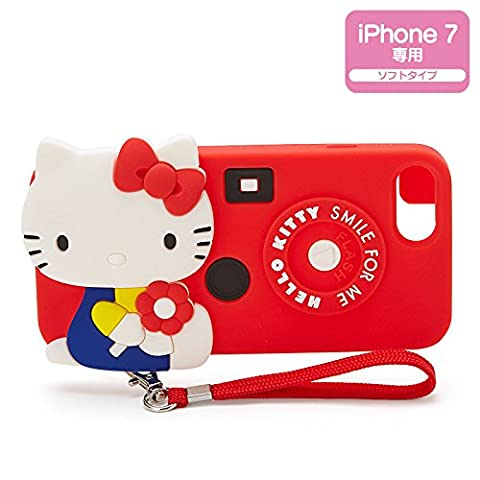 Sanrio Hello Kitty iPhone 7 case retro pop From Japan New (Dbz Character Guide)