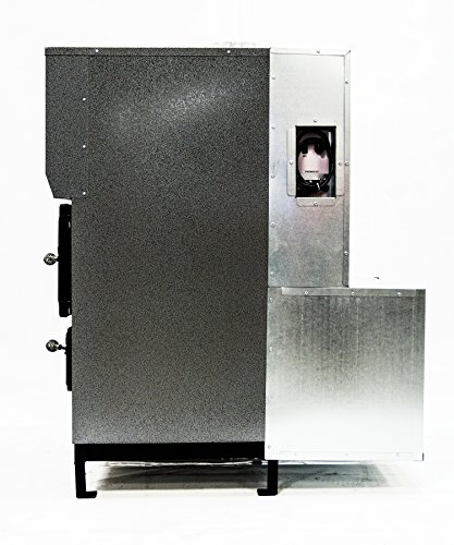 Shelter SF3100 Indoor Wood Burning Add-On Furnace ft. Heats up to 4,000 sq
