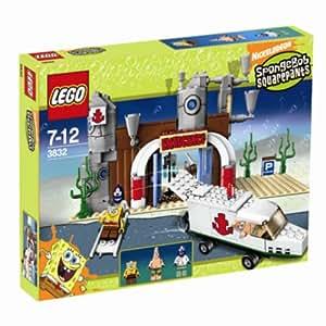 SpongeBob Squarepants Exclusive Limited Edition Lego Set #3832 Emergency Room