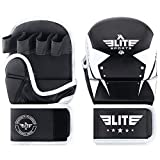 MMA Grappling Training Sparring Mitts Gloves, Elite