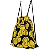 Softball Print NGIL Draw String pull Backpack