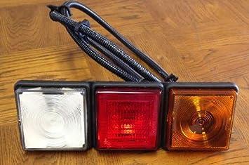 One Rear Light Rubbolite 8002 Rear Lamp Module Rubbolite 12v