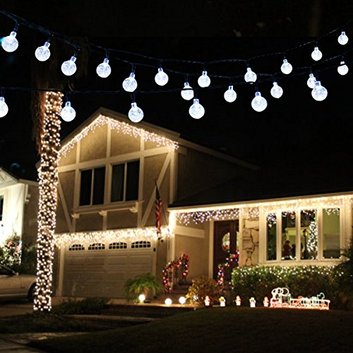 Outdoor Christmas Lights Big Balls
