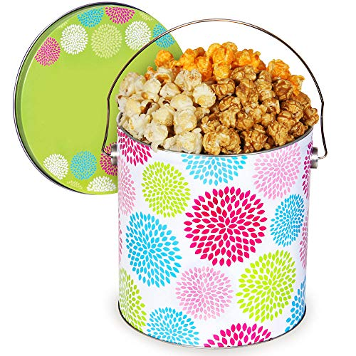 1 Gallon Popcorn Tin - Jubilee Popcorn Tin (People's Choice, 1 Gallon)