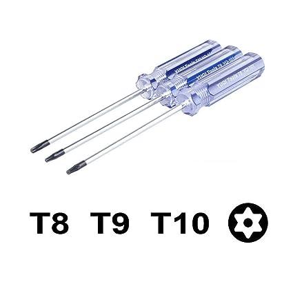 1 x Torx T8/T9/T10 Destornillador Herramientas de reparación para ...