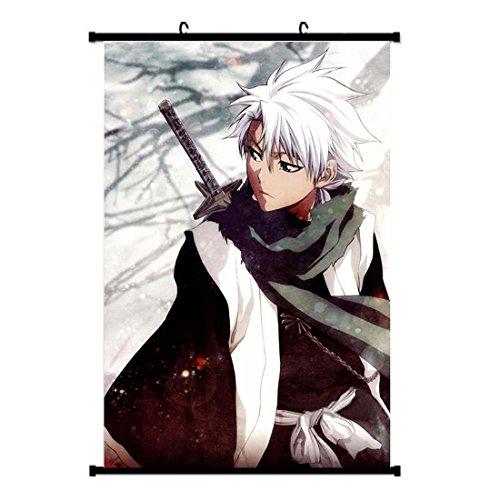 [CosEnter Anime BLEACH Hitsugaya Toushirou Poster Wall Painting Cosplay] (Hitsugaya Cosplay Costume)