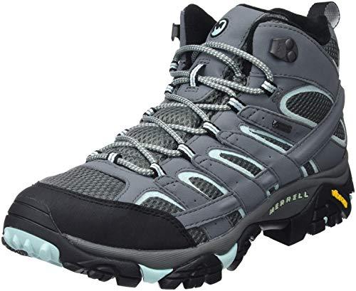 Merrell Women's Moab 2 Mid GTX High Rise Hiking Boots, 0