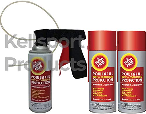 Kellsport Products Fluid Film Aerosol Spray Undercoating Kit. 3, 6, or 12 cans ()