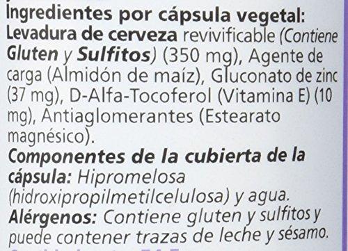 Sanon Levadura de Cerveza y Zinc - 2 Paquetes de 100 Cápsulas: Amazon.es: Salud y cuidado personal