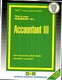 Accountant III, Jack Rudman, 083732968X