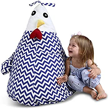 Amazon Com Uniwa Stuffed Animal Bean Bag 100 Cotton