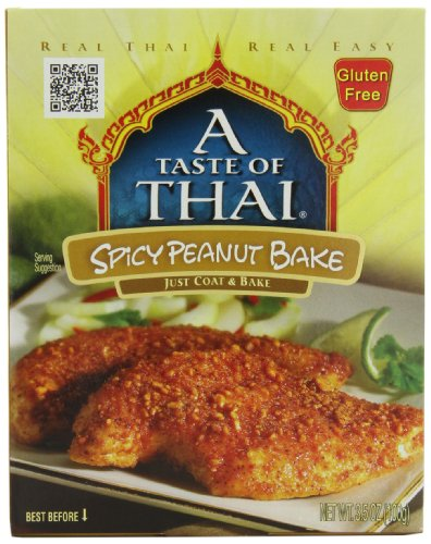 - A Taste of Thai Spicy Thai Peanut Bake, 3.5-Ounce Packets (Pack of 12)