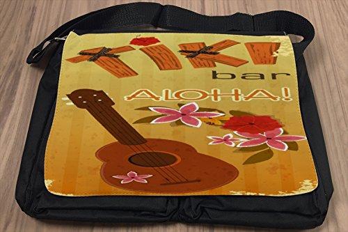 Umhänge Schulter Tasche Abenteurer Hawaii Aloha bedruckt