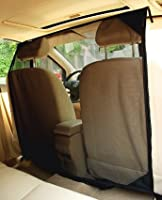NAC&ZAC SUV Pet Barrier - High See Through Net Vehicle Pet Barrier to Keep Dogs and Pet Hair Out of Front Seat