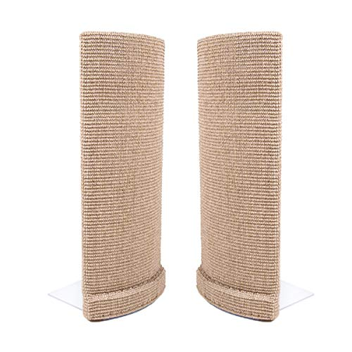 Sofa-Scratcher' Cat Scratching Post & Couch-Corner/Furniture Protector 2-Pack (Beige) ()