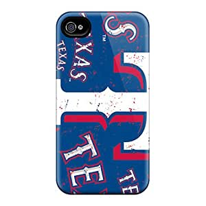 New Premium MQMshop Texas Rangers Skin Case Cover Excellent Fitted For Iphone 4/4s