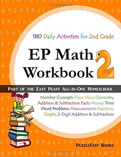 EP Math 2 Workbook: Part of the Easy Peasy All-in-One Homeschool ebook