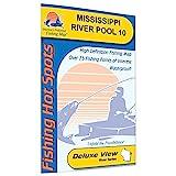 Mississippi River-Pool 10 Fishing Map