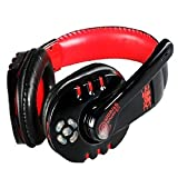 Novpeak 2.4GHz Over the Ear Bluetooth 3.0 Wireless Stereo Headset Gaming Headphones/ Music Earphones with Adjustable ISM Microphone / HD Stream transmission / Double antenna